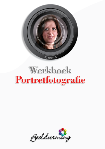 Cover werkboek Portretfotografie