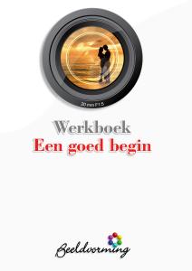 Cover werkboek Een goed begin
